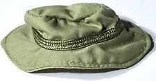 OLIVE GREEN BOONIE/BUCKET HAT GI Joe Collectors Club 12 In Military Cap 1:6 Scal