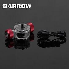 """Barrow g1/4"""" filo rosso sangue flusso Misuratore Indicatore con Sensore di raffreddamento ad acqua"""