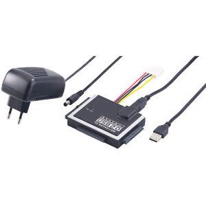 Xystec Universal-Festplatten-Adapter IDE/SATA auf USB 2.0, für HDDs & SSDs