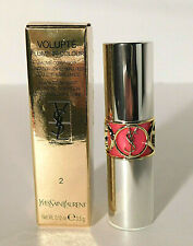Ysl Volupte Plump In Colour #2 Dazzling Fuchsia .12 oz / 3.5 g #2 Nib