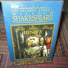 THE DRAMATIC WORKS OF WILLIAM SHAKESPEARE: HENRY V DVD, BBC TV - TIME LIFE, GUC