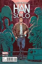 Han Solo #3 Star Wars Marvel Comics 2016 Michael Walsh Variant Cover Comic 1:25
