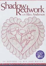 Shadow Redwork with Alex Anderson - Print on Demand Edition von Alex Anderson