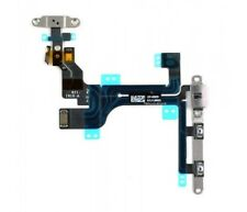New OEM Power Volume Mute Button Switch Flex Cable with Brackets for iPhone 5C