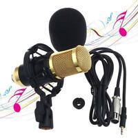 Sound Studio Dynamik Mic + Shock Mount BM 800 Wired-Kondensator-Mikrofon New KS