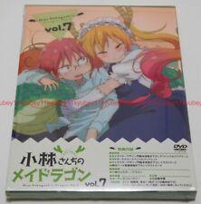 New Miss Kobayashi's Dragon Maid Vol.7 Limited Edition DVD Booklet Card Japan