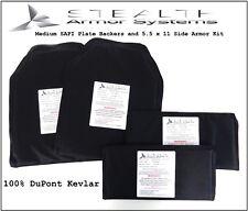Med SAPI (9.5 x 12.5 & 5.5 X 11) Plate Backer Kit Level 3-A 100% DuPont Kevlar