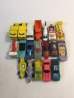 Hot Wheels Lot of 19 1980s - 1990s Cars