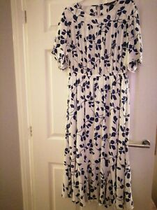 Maxi dress size 16 Marks And Spencers