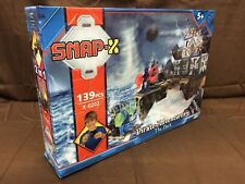 Snap X 2 in 1 Nave Pirata & Pirata Dock AVVENTURE Construction Set-NUOVI