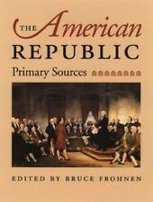 AMERICAN REPUBLIC, THE