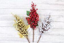 Ghirlande, corone e fiori natalizi in argento