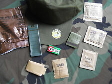 VIETNAM US ARMY ORIGINAL RATIONS ACCESSORY PACKET  (8) ARTICLES..