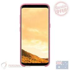 Genuine Samsung Galaxy S8 Plus Alcantara Back Cover - Pink New