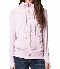 Fox Racing Womens Mix Up Zip Hoody Pale Pink Size L