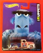1:64 Hot Wheels The Muppets '52 Chevy Truck Blue and White