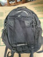 EMS Eastern mountain Sports 35L Four Wheel Jive Day Back Pack black needs cleani