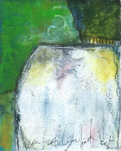 05520 - Barbara BERGER - Acryl Mischtechnik - Original - 20x25