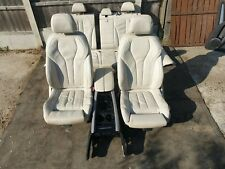 BMW X5 F15 2013-2018 Full Complete Interior Cream Leather Seats