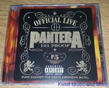 """PANTERA  """"Official Live: 101 Proof""""  PA  NEW  (CD, 1997)"""