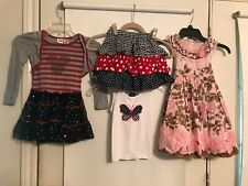 Girls Lot of 15 Size 4 Dresses 5 Skirts 2 Shorts 3 Tops 3 Jeans 1 Jacket 1
