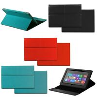 Leather Case Cover Stand Keyboard Holder for Microsoft Surface RT / Surface 2