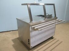"""""""Duke"""" H.D. Commercial Ss (Nsf) Serving Line w/Built-In """"Wells"""" Electric Fryer"""