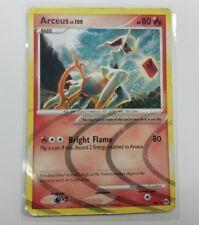 1 x ARCEUS Lv. 100 Platinum Arceus AR5 NM/LP Pokemon TCG