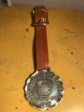 ANTIQUE R. A. M. ( Royal Arch  Mason) SILVER WATCH FOB C. 1916 VERY VERY NICE!