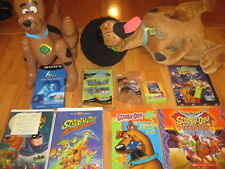 Scooby-Doo Lot:4in1 Book+Inflatable+Plush+Cards+5 VHS+3DVDs+BobbleHead+3Toys+Puz