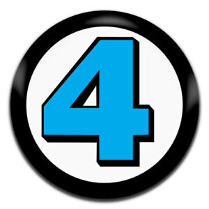 Fantastic 4 Comic Marvel 25mm / 1 Inch D Pin Button Badge