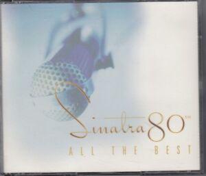 Frank Sinatra - Sinatra 80th: All the Best  (CD, Nov-1995, 2 Discs, Capitol)