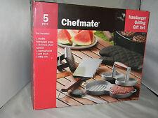 Chefmate BBQ Hamburger Grilling Set 5 pcs