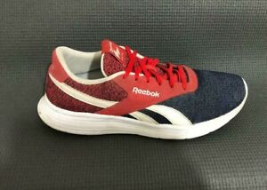 Reebok Royal Flag Men's Sneakers AR1489 Trainers Blue Red Size 9.5 US / EU 42.5