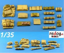 1/35 Fabrics Military Scale Modelling Resin Stowage Diorama Accessories Kit 1