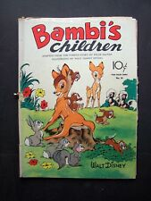 BAMBI'S CHILDREN Dell 1943