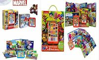 Electronic Reader 8 Book Library 2+ Read Play Thomas Marvel Avengers Paw Petrol