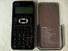Sharp WriteView Calculator EL-W535X With Cover In Good Condition