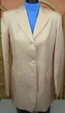 "Saks Fifth Avenue ""The Works"" Women's 2 Button Blazer/Jacket Size 4 100% Linen"