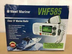 West Marine VHF585 Submersible VHF Radio NEW IN BOX