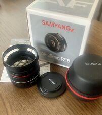 Mint, SAMYANG AF 35mm F/2.8 FE Lens for Sony E-mount #SYIO35AF-E