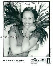Samantha Mumba Wild Card Rhythm & Blues Interscope Records Original Press Photo
