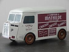 CITROEN H HY MATHILDE - BOITE A GATEAU METAL BOX VAN TUBE CAMION