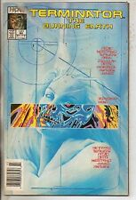 Now Comics Terminator Burning Earth #1 1st Published Alex Ross Work VF