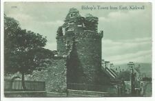 POSTCARDS-SCOTLAND-ORKNEY-KIRKWALLPTD. The Bishops Tower from The East.