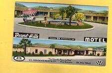 Del Rio,TX Texas Desert Hills Motel heated swimming pool