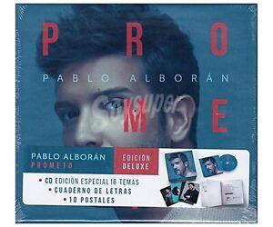 PACK CD CUADERNO POSTALES PABLO ALBORAN PROMETO AQUITIENESLOQUEBUSCAS ALMERIA