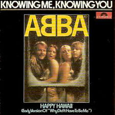 ☆ CD Single ABBA Knowing me knowing you 2-Track CARD SLEEVE  ☆
