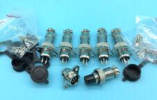 HQ 2Pin 3pin 4pin 5pin 6pin 7pin Aviation Plug Connector M12 Panel waterproof