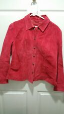 Coldwater Creek Blazer Large Petite Womens Coral Snap Buttons  Jacket fall color